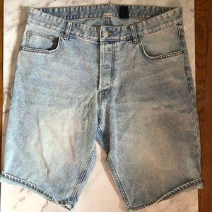 H&m mens denims shorts